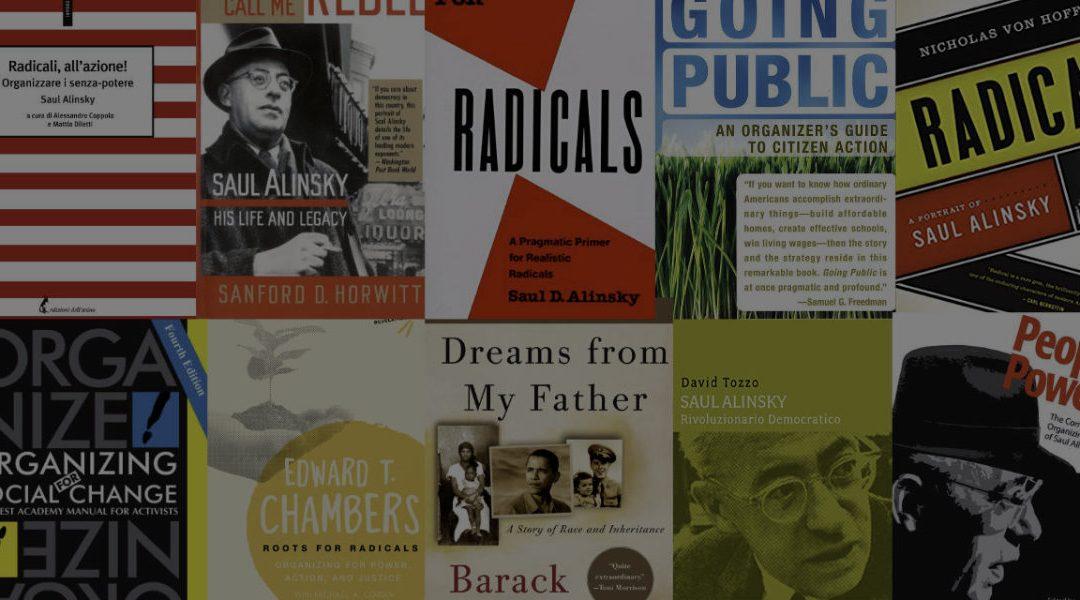 Il community organizing in 10 libri