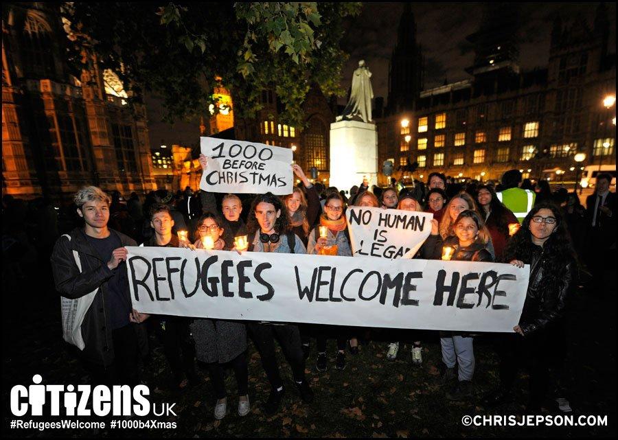 Rifugiati: alla linea Cameron i community organizer contrappongo un'alleanza tra cittadini e Comuni per l'accoglienza